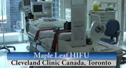 HIFU procedure by Maple Leaf HIFU